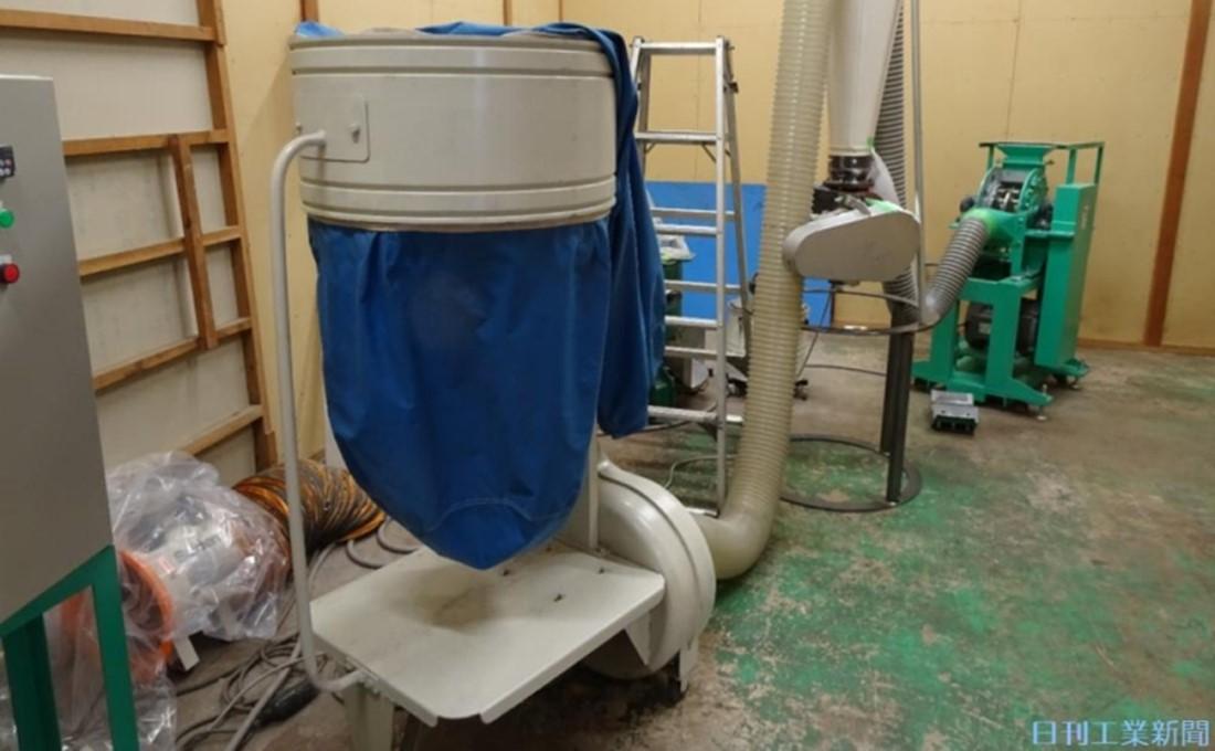伊藤園と新会社。静岡の中小企業が麦茶殻を利用した軽量パレット原料を生産