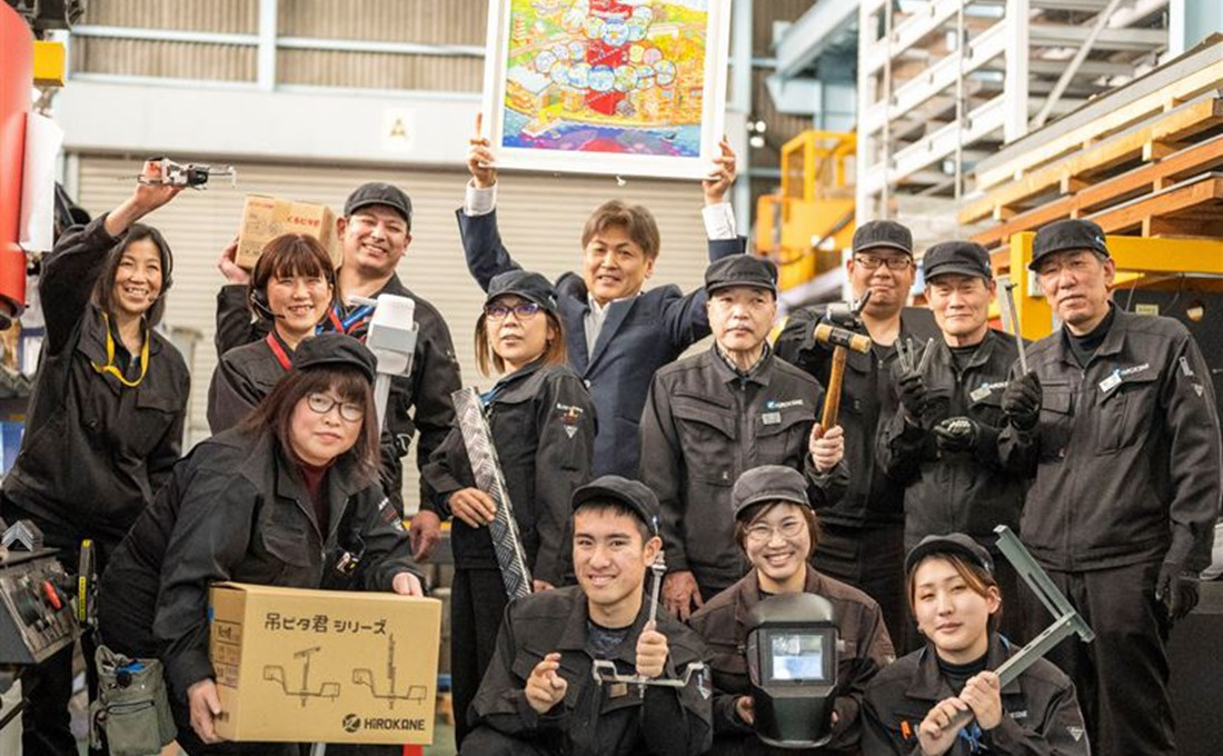 """広島の金具メーカー""""鳴かず飛ばず""""の自社設計製品。販売を増やした転機"""