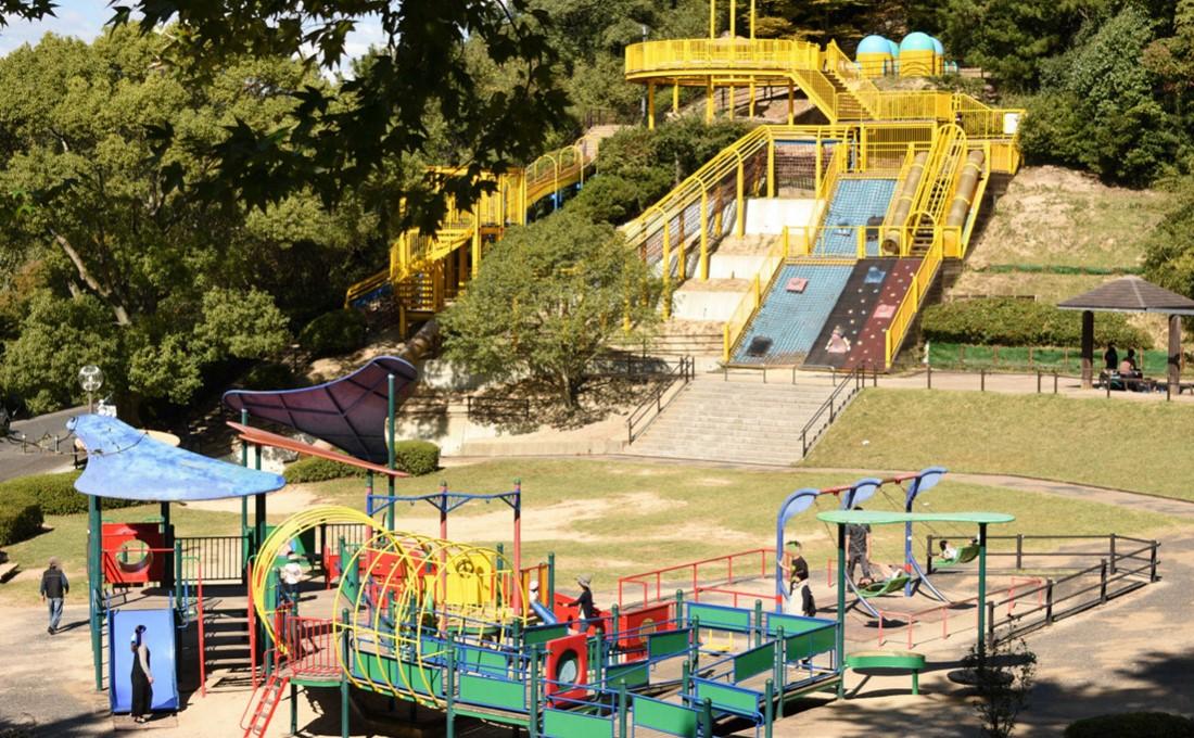 遊び方は無限大!たのしい遊具で遊べる岡山・倉敷おすすめ公園8選