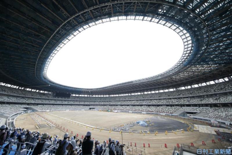 工事が9割完了した新国立競技場、計画通りに進んでいるの?